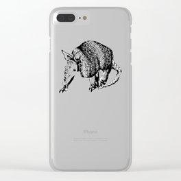 Cingulata Clear iPhone Case