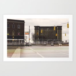 Michigan Grand Central Station Art Print