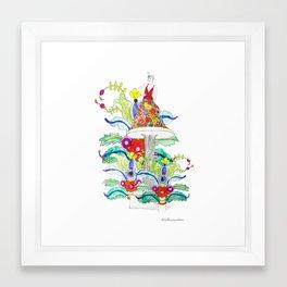 Daga Framed Art Print