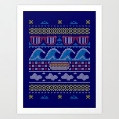 Ugly Summer Sweater Art Print