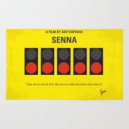 No075 My senna minimal movie poster Rug