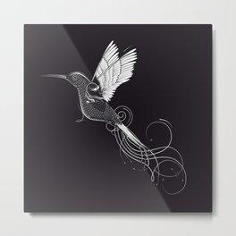 fanciful hummingbird Metal Print