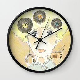 Thoughts at 45 rpm Wall Clock