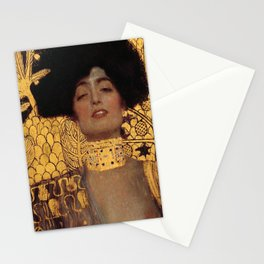 JUDITH AND THE HEAD OF HOLOFERNES - GUSTAV KLIMT Stationery Cards