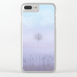 Pastel vibes 53 Clear iPhone Case