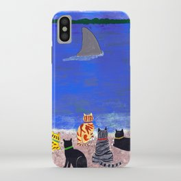 Cats on the Beach iPhone Case