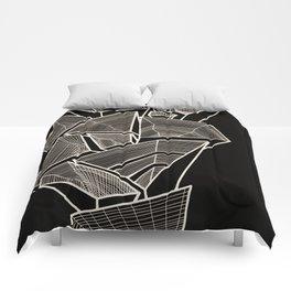 Pockets - Inverted Gold Comforters