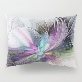 New Life, Abstract Fractals Art Pillow Sham