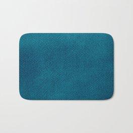 Blue Watercolor Square Bath Mat