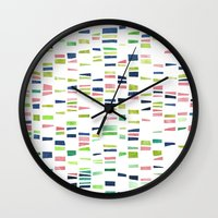 dna Wall Clocks featuring DNA by insemar