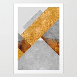 Modern Mountain No6-P3 Art Print