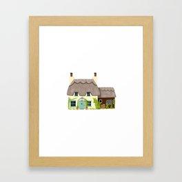 Thatched Cottage Framed Art Print
