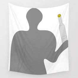 Somebody with vodka Wall Tapestry