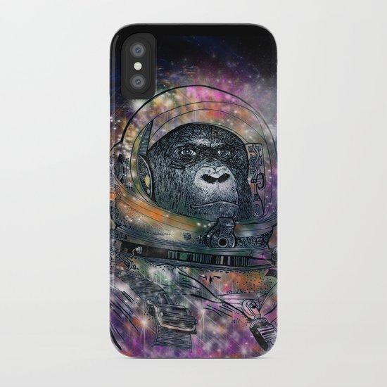 deep space monkey iPhone Case