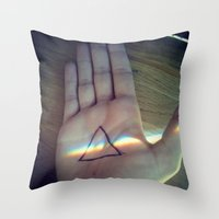 floyd Throw Pillows featuring Pink Floyd by Emma.B