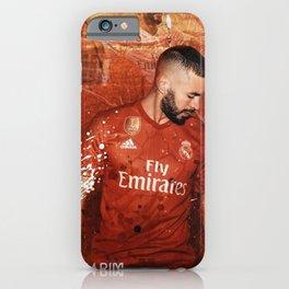 Karim Benzema iPhone Case