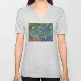 Vincent van Gogh - Irises Unisex V-Neck