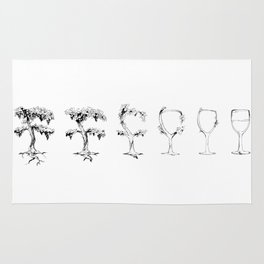 A Vine in Time Rug