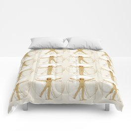 Vitruvian Man Table Comforters