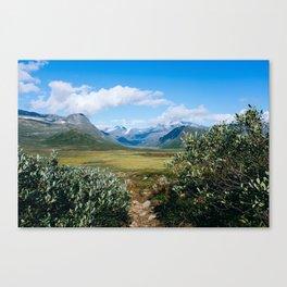 Mountain kingdom Canvas Print