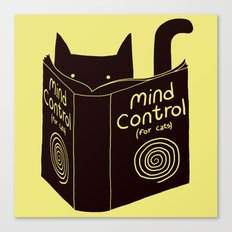 Mind Control (buy this) Canvas Print