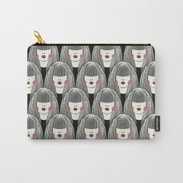 Lady Pattern Carry-All Pouch