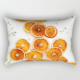 Pure Citrus (Color) Rectangular Pillow