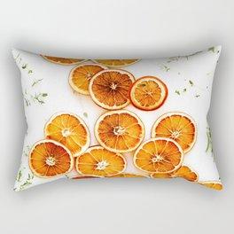 Pure Citrus (Color) Rectangular Pillow