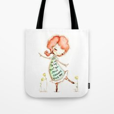 The Way You Move by Diane Duda Tote Bag