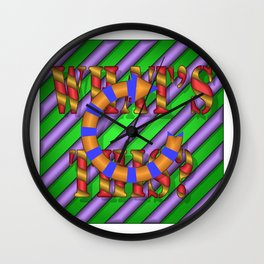 WHAT'S THIS? 02 Wall Clock