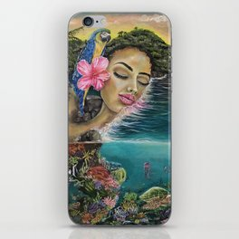 Island Dreaming iPhone Skin