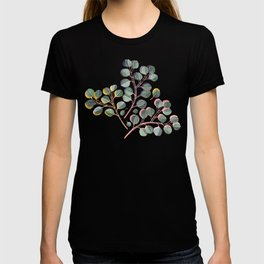 Simple Silver Dollar Eucalyptus Leaves T-shirt