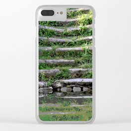 River stairs Clear iPhone Case