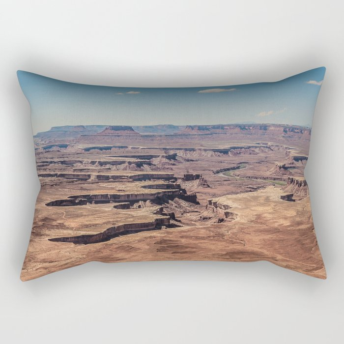 Canyonlands Rectangular Pillow