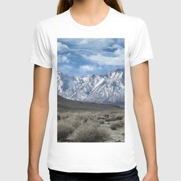 Eastern Sierra Snow Capped Mountains 2-28-19 T-shirt