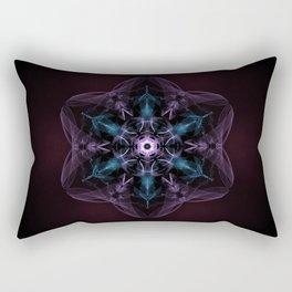 The Awakening Mandala Rectangular Pillow