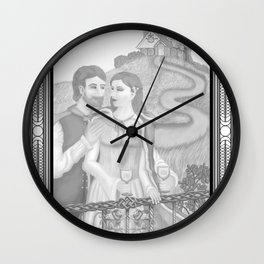 Two of Cups Wall Clock
