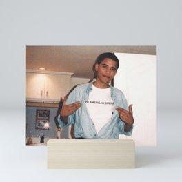 The American Dream - Obama Mini Art Print