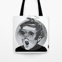 gamer Tote Bags featuring anti gamer by KrisLeov