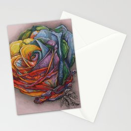 Variegated Love Stationery Cards