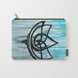 Lotus in the Rain I Carry-All Pouch