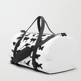 Animals Collection Silhouette Duffle Bag