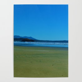 Surfers of Tofino, Long Beach Vancouver Island Poster