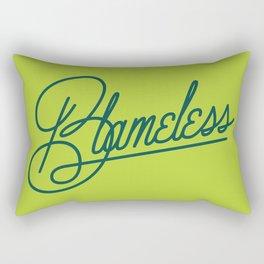 Blameless Rectangular Pillow
