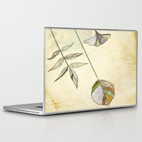 study Laptop & iPad Skins featuring Leaf Study by Rachael Shankman
