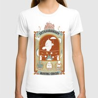 circus T-shirts featuring The Moving Circus by Teo Zirinis