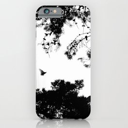 freedom to fly up to sky iPhone Case