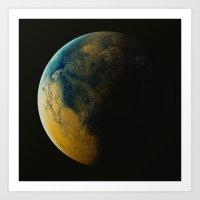 Exoplanet 170127-3 Art Print