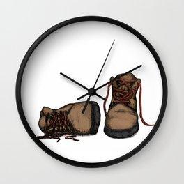 Good Tidings Wall Clock