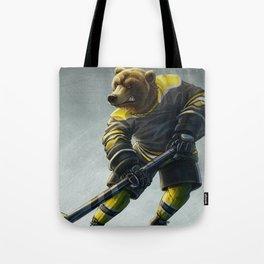Boston Hockey Tote Bag